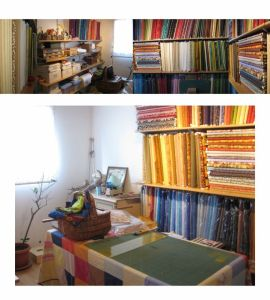 Le coin d'une folle de patchwork