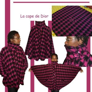 La cape de Dior