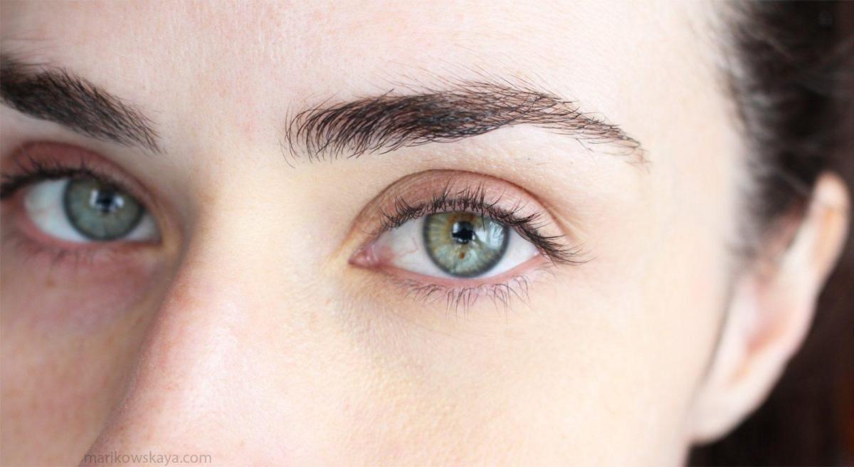 Ojera corregida, luz natural