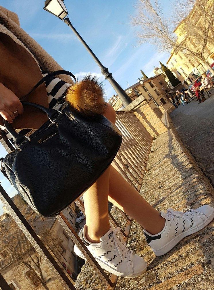 marikowskaya streeet style lara adidas stan smith (1)