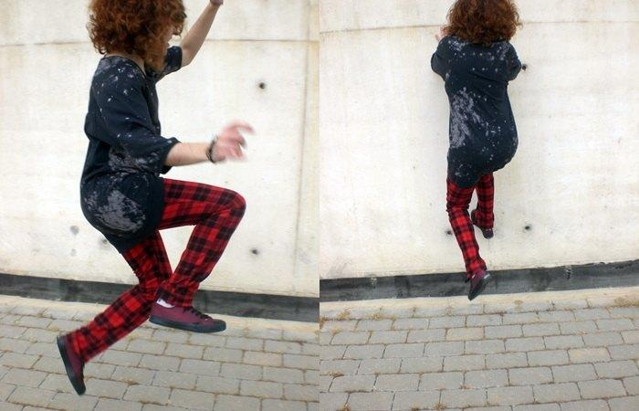 marikowskaya lansy tartan pants (1)