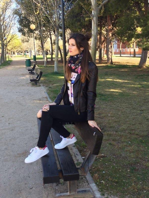 marikowskaya street style andrea stan smith adidas (2)
