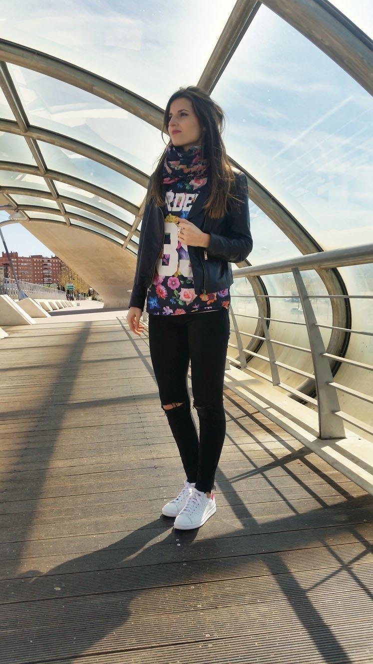 marikowskaya street style andrea stan smith adidas (3)