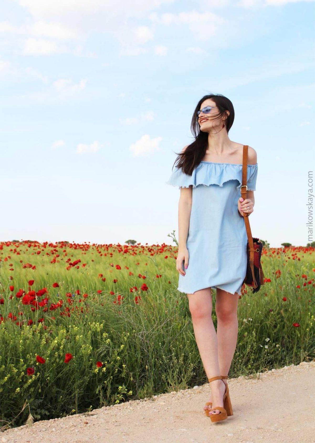 marikowskaya street style off-shoulders tops 12