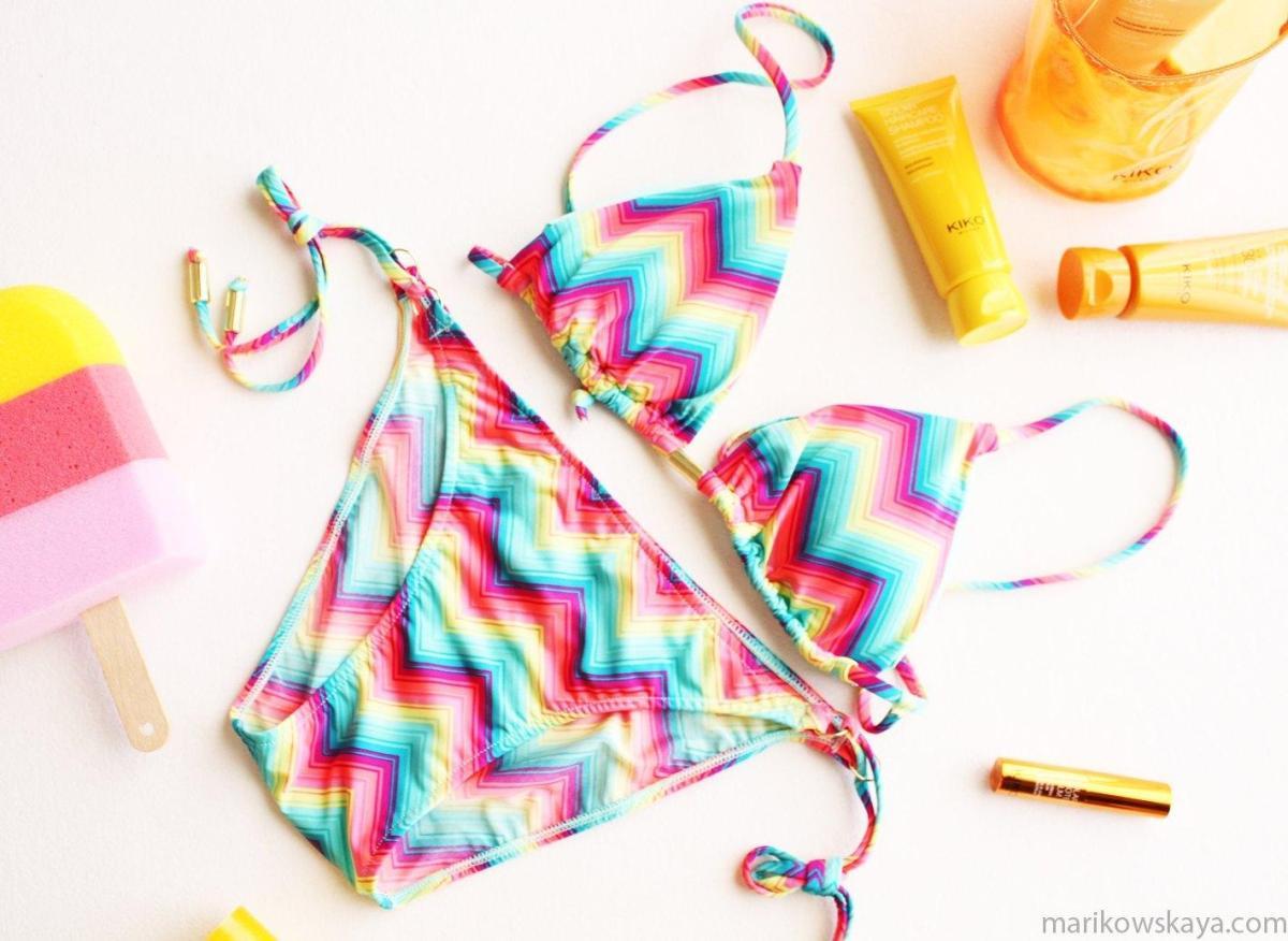 haul bikinis - woman secret triángulo