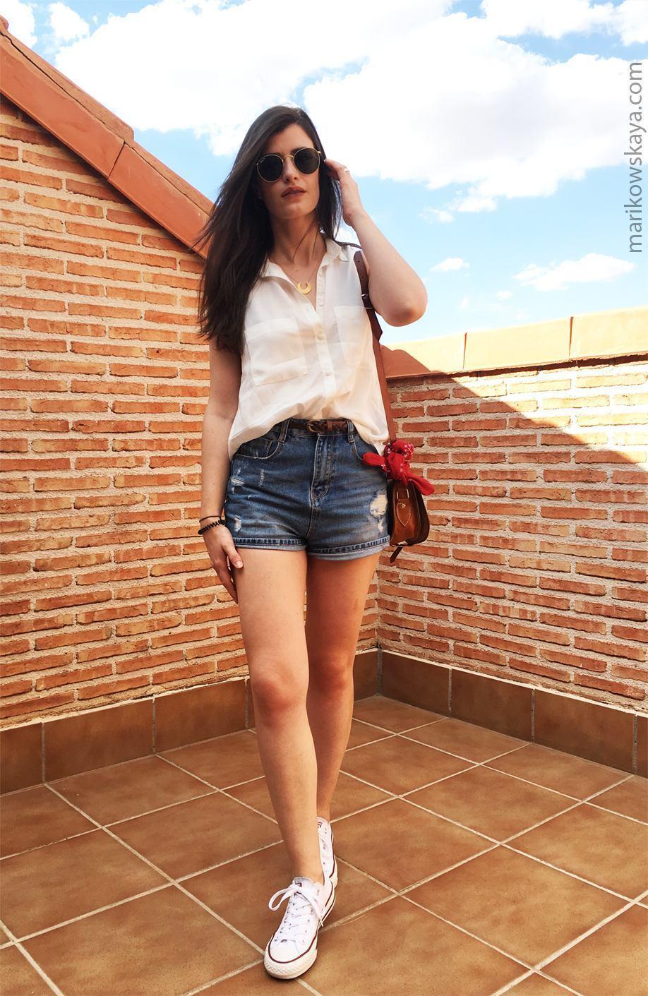 marikowskaya street style shorts 5