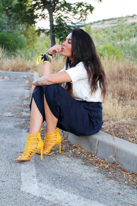 marikowskaya street style carmen sandalias amarillas (5)