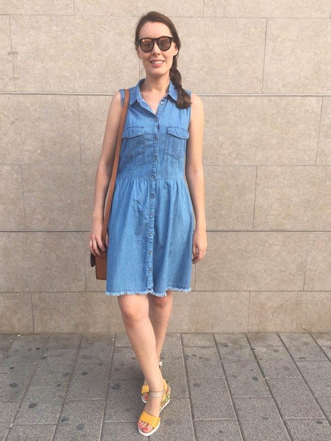 marikowskaya street style monica vestido vaquero (1)