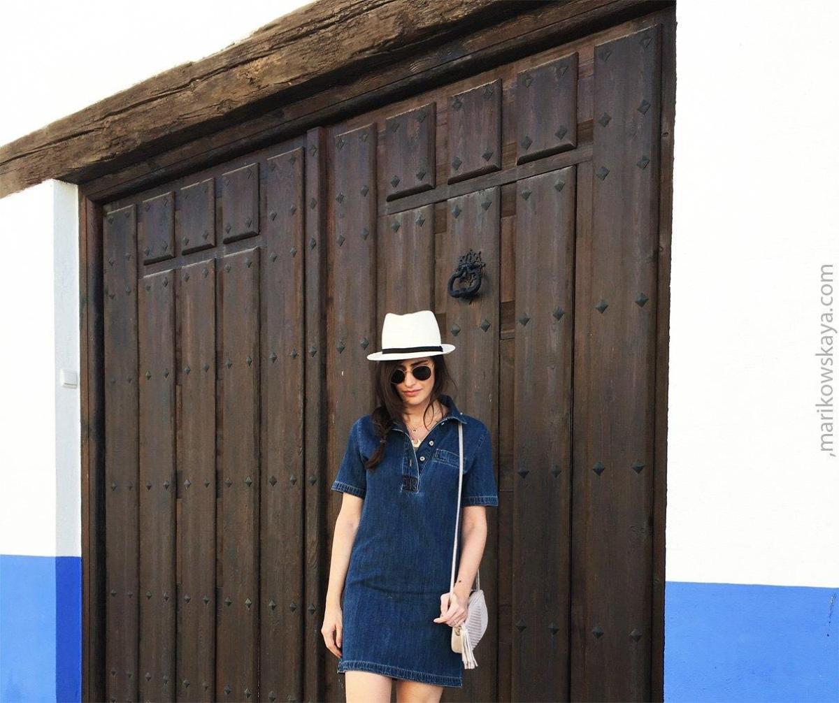 marikowskaya street style vestido vaquero 3