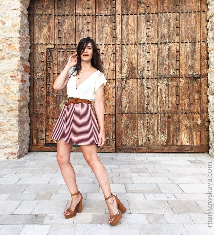 marikowskaya street style falda skater 12