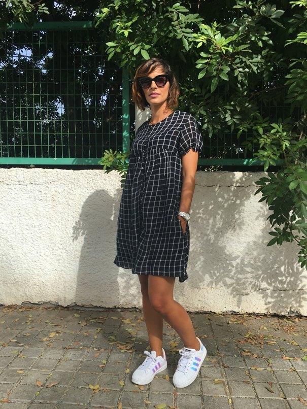 marikowskaya street style mis brochas y sombras vestido mono (2)