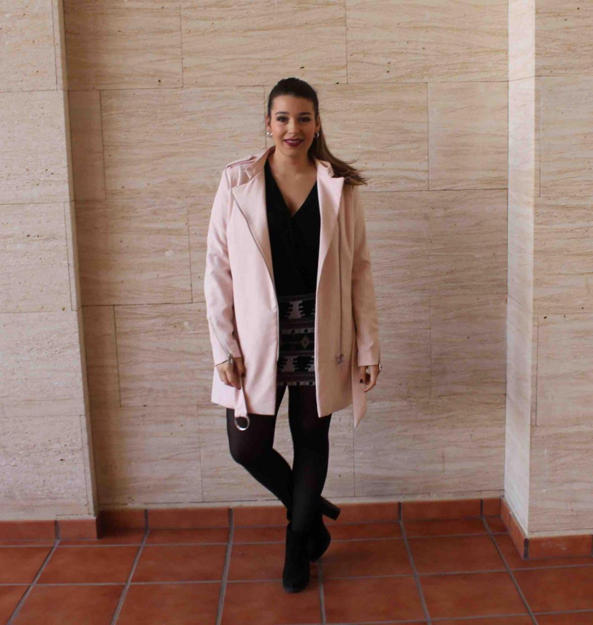 marikowskaya street style amanda abrigo rosa (2)