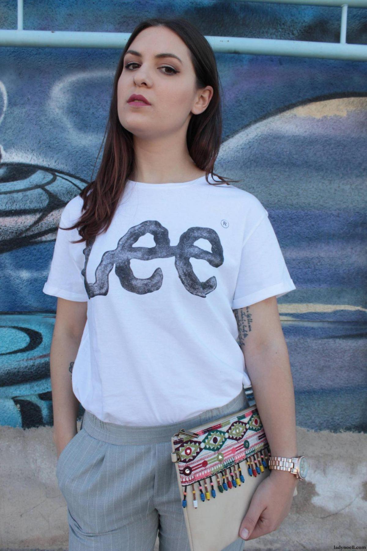 marikowskaya street style noelia camiseta lee (7)