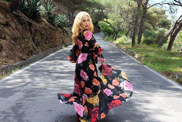 marikowskaya street style patripaan vestido flores (3)