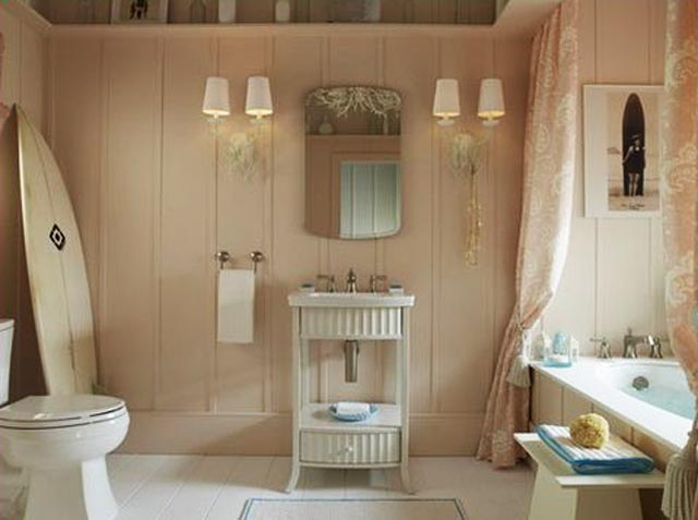Love the unique delicate look of this bathroom by home-is where-the-heart- is.