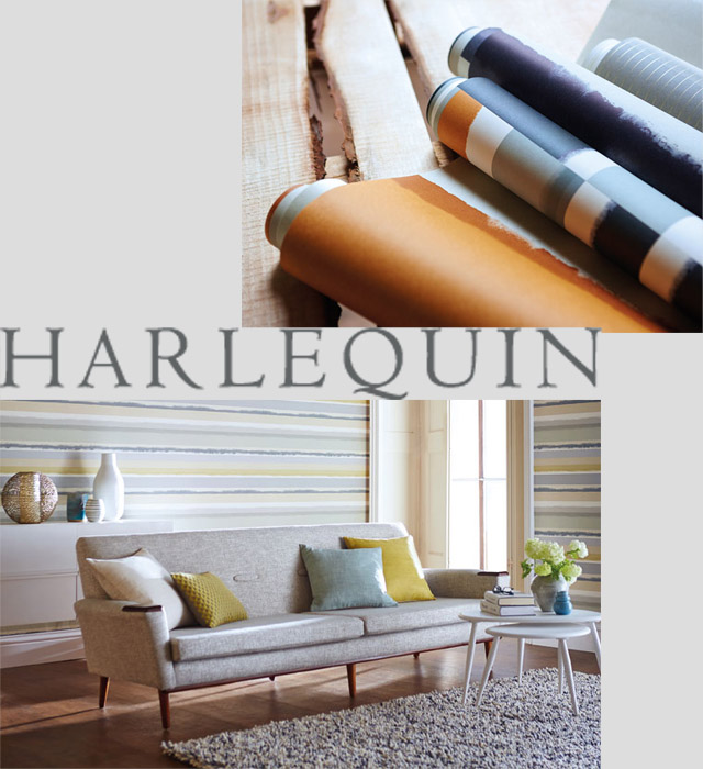 harlequin stripes