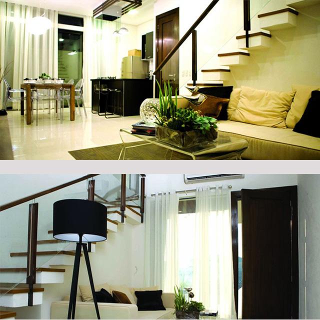THe Kasa Model Unit Living Room