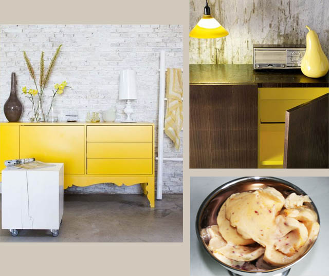 Lemon yellow Inspired Interiors