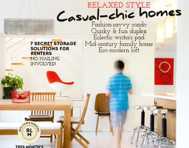 We are featured in Real Living Magazine!