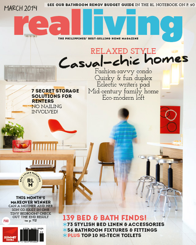 Real Living March 2014 Cover