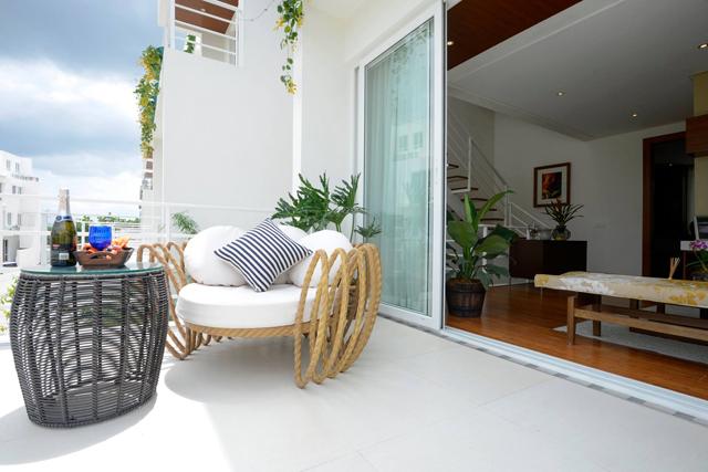 The Mila Model Unit Balcony