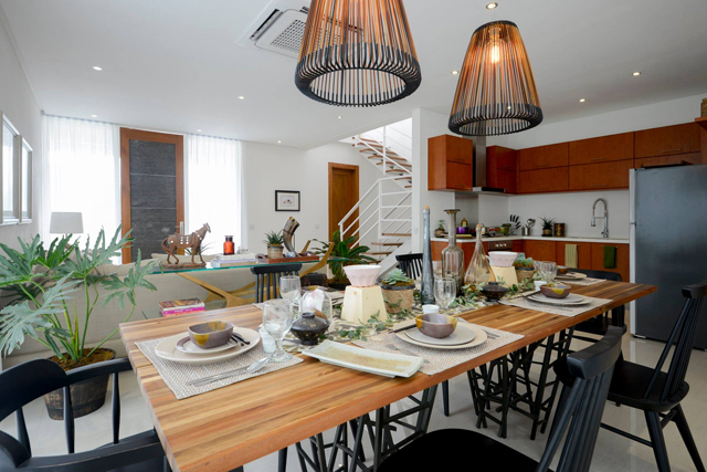 The Mila Model Unit Lving and Dining Room