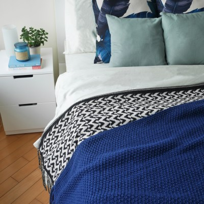 How To Make Your Bedroom Look Like New in Five Minutes