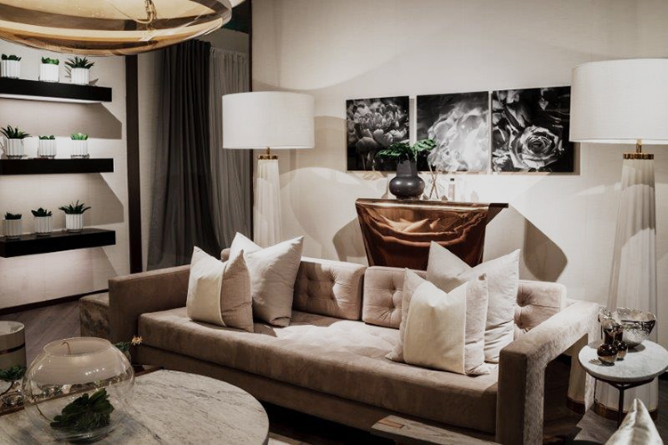 Kelly Hoppen British Interio Designer launches collection in China