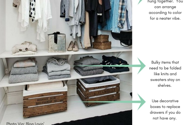 The best Ideas and Tips on How to Organize Your Wardrobe Closet