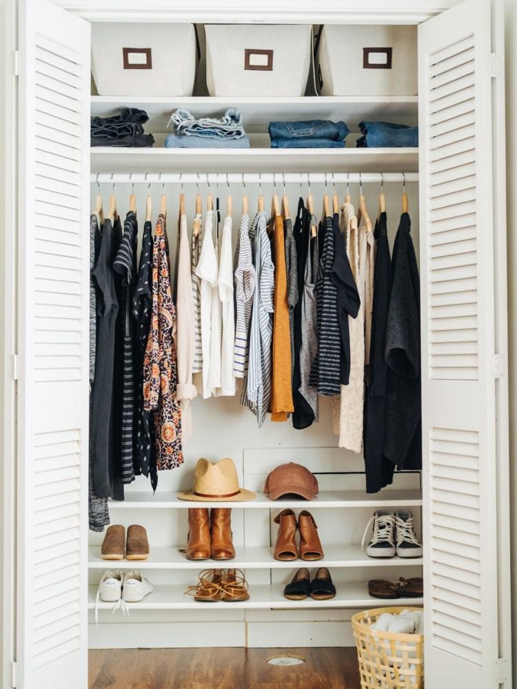 How to organize your wardrobe closet