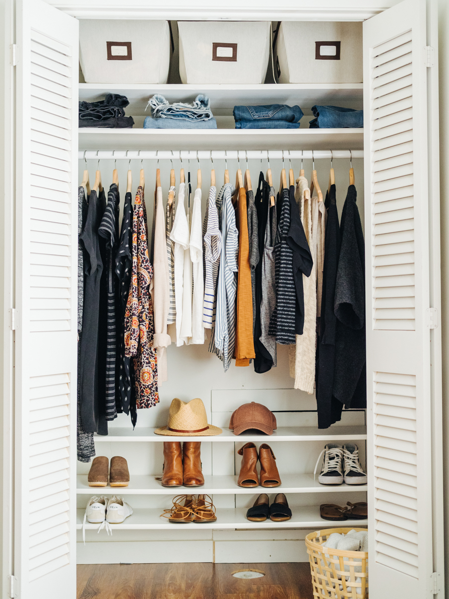 How To Organize Your Wardrobe Closet