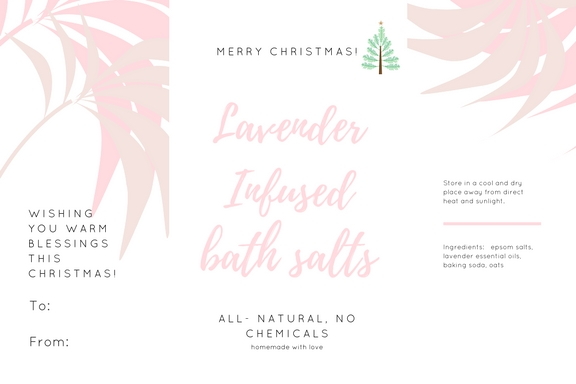 essential oil labels