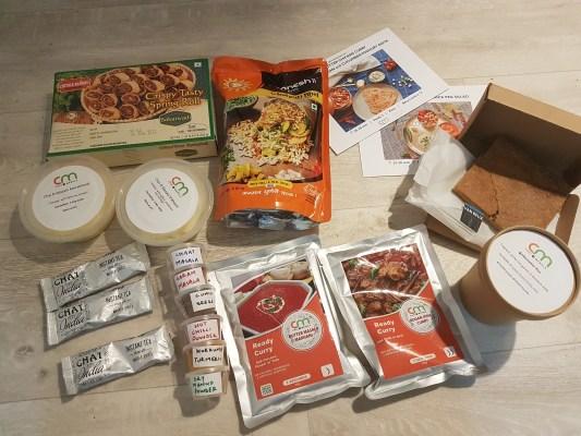 Goodiebag met Indiase producten