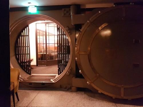 Originele bank kluis