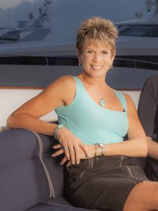 Marilyn DeMartini is at home onboard