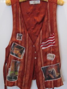 I Want My Country Back - vest front