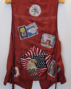 I Want My Country Back - vest back