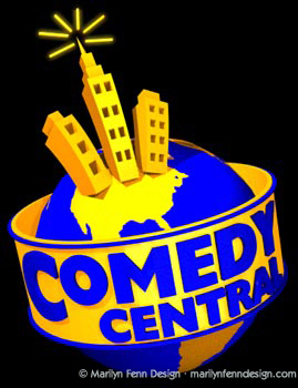 3D model of Comedy Central logo