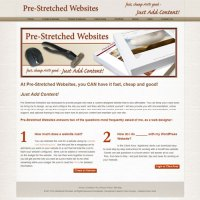 image of Pre-Stretched Websites.com