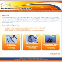 image of Southwest Energy Services website