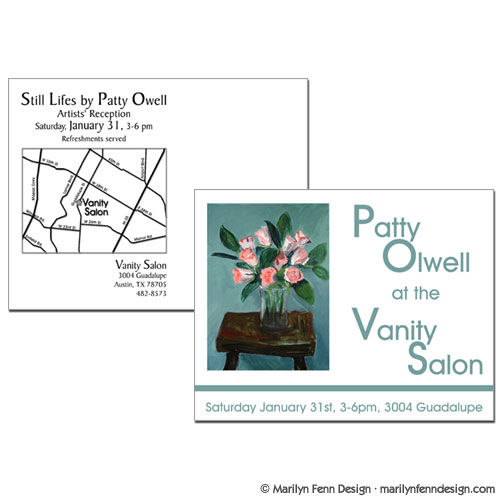 Patty Olwell Postcard