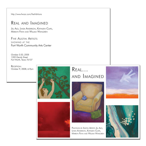 Real And Imagined Postcard