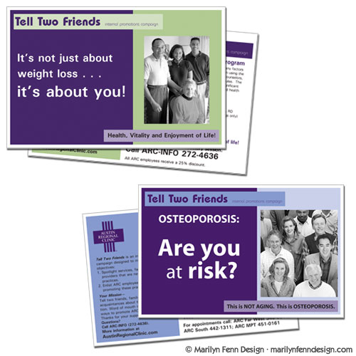 Tell Two Friends Postcards