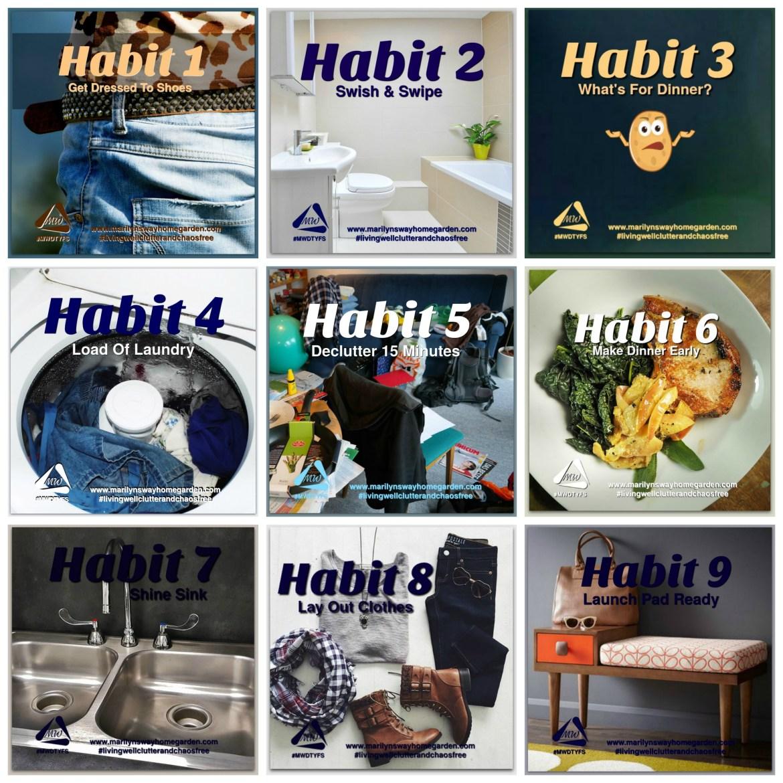 9 Life Changing Habits