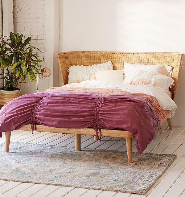 Splurge Vs. Steal - Bohemian Beds - Marilynn Taylor DIY ... on Modern Boho Bed Frame  id=71829
