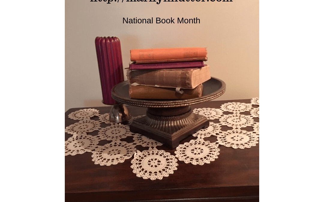 National Book Month: Give-Away Part 2