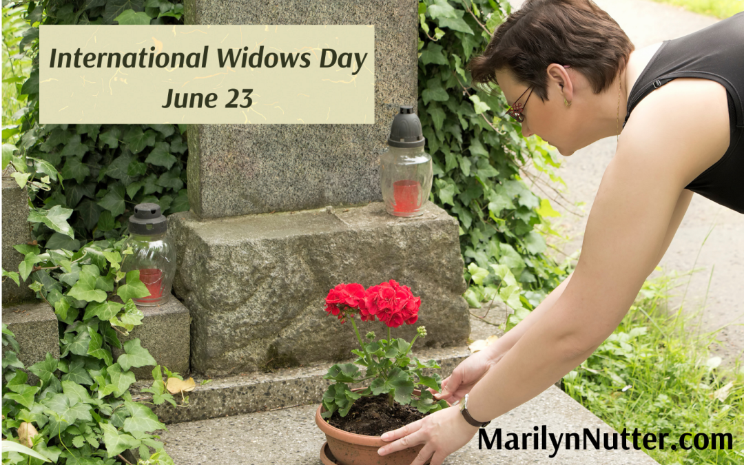 No Balloons or Streamers: International Widows Day June 23