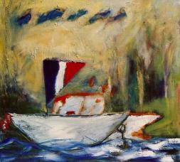 's Boat II 20x24