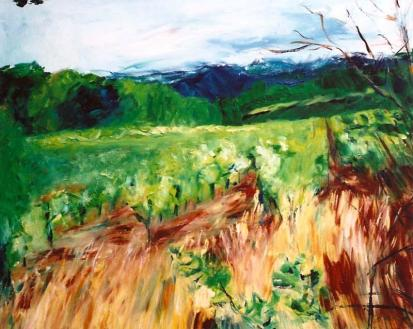 Jack London Vineyards 24x30
