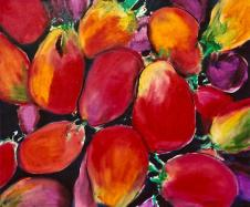 Juicy Tomatoes 24x30